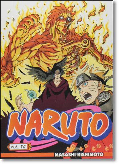 Naruto - Vol.58, livro de Masashi Kishimoto