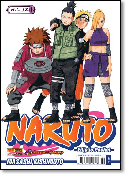 Naruto Pocket - Vol.32, livro de Masashi Kishimoto