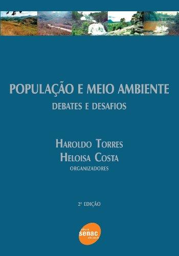 POPULACAO E MEIO AMBIENTE, livro de TORRES, HAROLDO