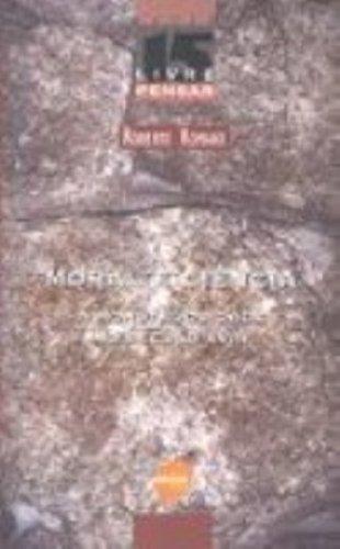 MORAL E CIENCIA. A MONSTRUOSIDADE NO SEC XVIII, livro de SILVA, ROBERTO ROMANO DA