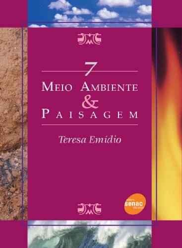 MEIO AMBIENTE & PAISAGEM SMA 07, livro de EMIDIO, TERESA