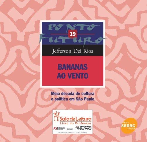 Bananas Ao Vento, livro de Jefferson Rios
