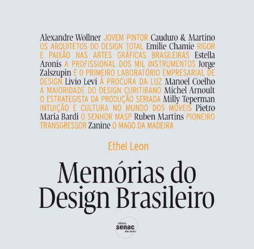 Memórias Do Design Brasileiro, livro de Ethel Leon