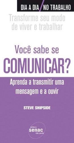 Você Sabe Se Comunicar?, livro de Steve Shipside
