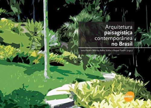 Arquitetura Paisagística Contemporânea No Brasil, livro de Raquel Tardin