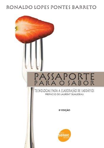 Passaporte Para o Sabor, livro de Ronaldo Barreto