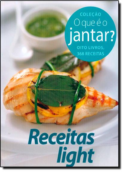 Receitas Light, livro de Impala Brasil Editores
