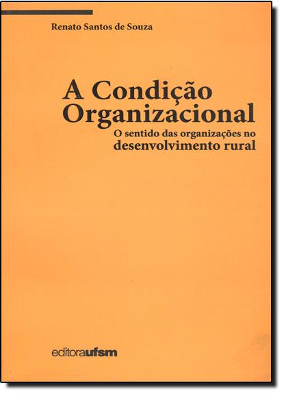 Condição Organizacional: O Sentido das Organizações no Desenvolvimento Rural, A, livro de Renato Santos de Souza