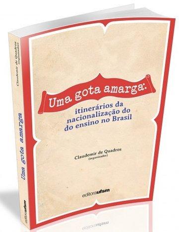 Uma Gota Amarga, livro de Quadros Claudemir De