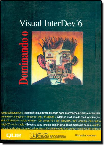 Dominando o Visual Interdev 6, livro de Michael Amundsen