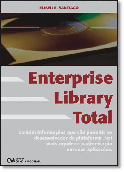 Enterprise Library Total, livro de Eliseu A. Santiago