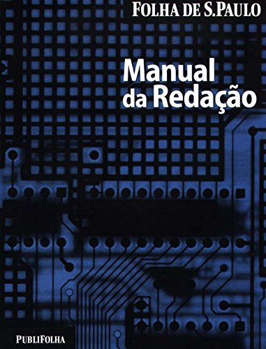 Manual da Redação da Folha de São Paulo, livro de Vários Autores