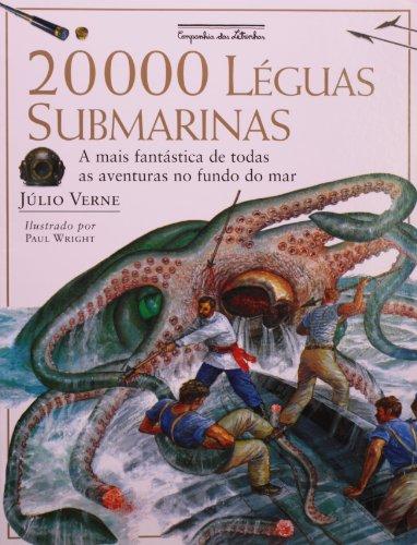 20 000 LÉGUAS SUBMARINAS, livro de Júlio Verne