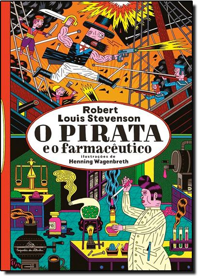 Pirata e o Farmacêutico, O, livro de Robert Louis Stevenson