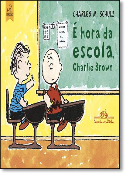 Hora da Escola, Charlie Brown, É, livro de Charles M. Schulz