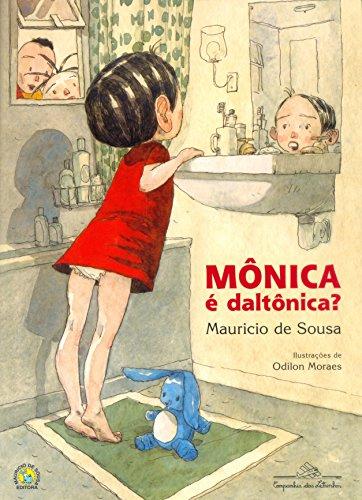 Mônica é daltônica?, livro de Mauricio de Sousa
