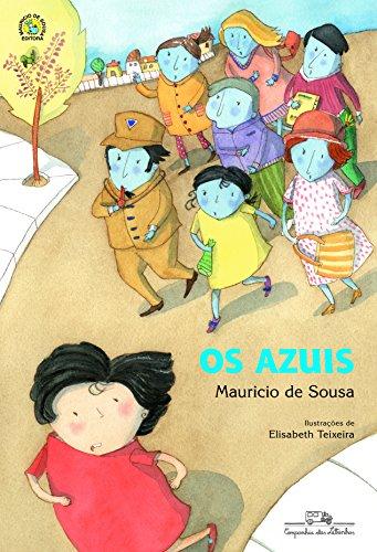 Turma da Mônica em: Os azuis, livro de Mauricio de Sousa