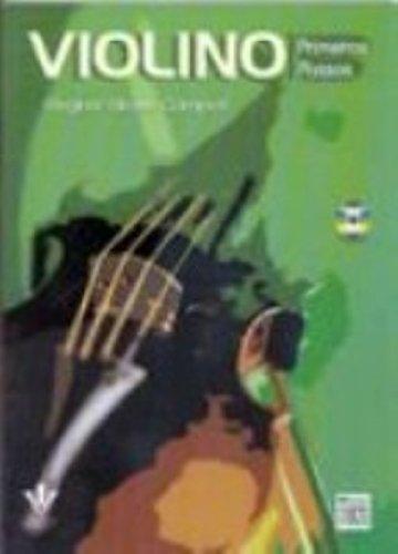 VIOLINO - PRIMEIROS PASSOS, livro de Regina Grossi Campos