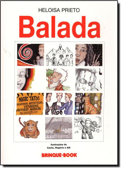 Balada, livro de Heloisa Prieto
