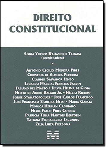 Direito Constitucional, livro de Vários Autores