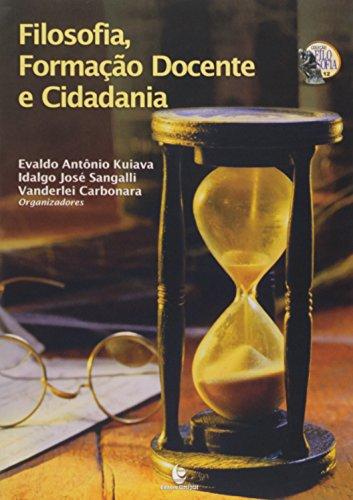 FILOSOFIA, FORMACAO DOCENTE E CIDADANIA, livro de CARBONARA/SANGALLI/K