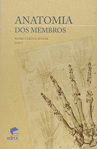 ANATOMIA DOS MEMBROS, livro de REMO FARINA JÚNIOR