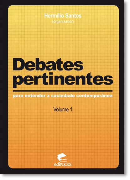 DEBATES PERTINENTES, livro de HERMÍLIO SANTOS