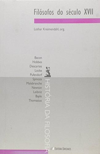 Filósofos do Século XVII, livro de Lothar Kreimendahl