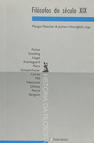 FILOSOFOS DO SECULO XIX, livro de FLEISCHER