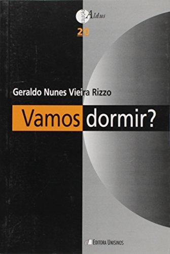 Vamos Dormir?, livro de Geraldo Nunes Vieira Rizzo