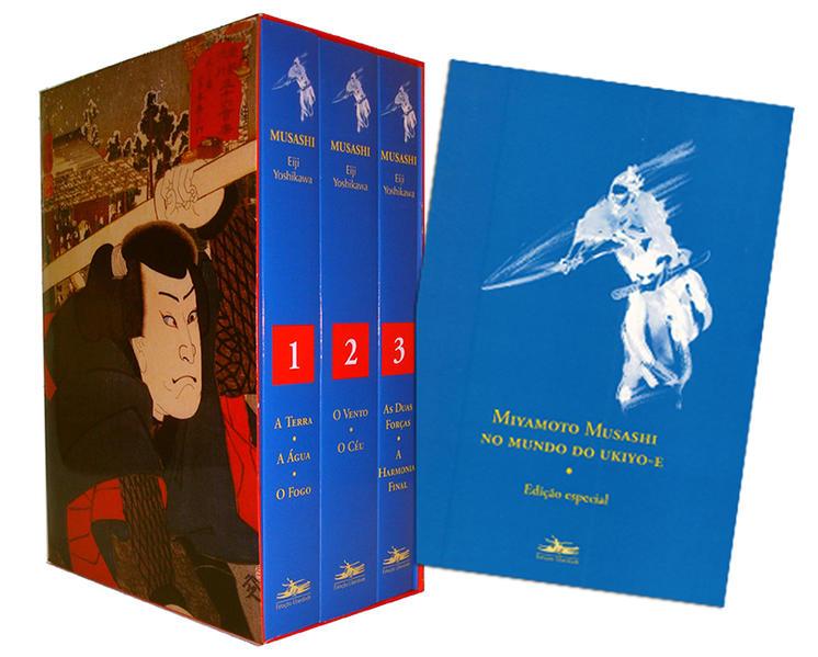 MUSASHI - Caixa (3 volumes), livro de Eiji Yoshikawa