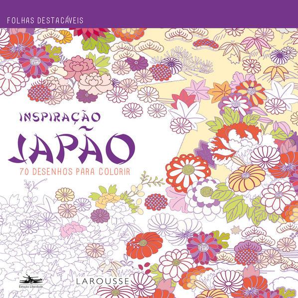 Japão: 70 Desenhos Para Colorir - Coleção Inspiração, livro de Editora Estação Liberdade