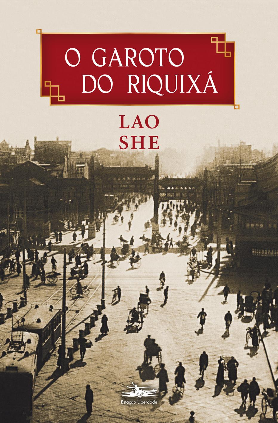 O Garoto do Riquixá, livro de Lao She
