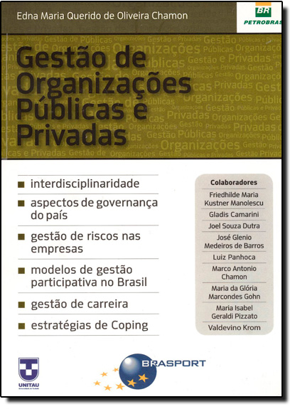 Gestão de Organizações Públicas e Privadas, livro de Edna Maria Querido de Oliveira Chamon