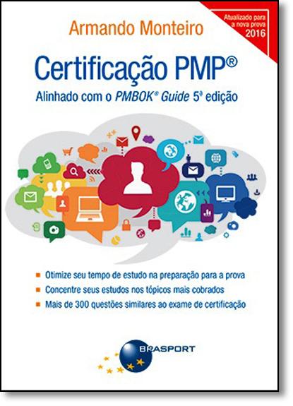 Certificação Pmp, livro de Armando Monteiro