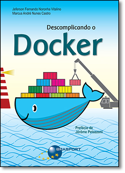 Descomplicando o Docker, livro de Jeferson Fernando Noronha Vitalino