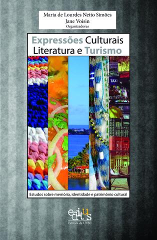 Expressões culturais literatura e turismo, livro de Maria de Lourdes N. Simões (Or