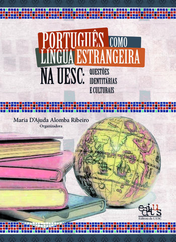 Português como língua estrangeira na UESC: questões identitárias e culturais, livro de Maria D`Ajuda A. Ribeiro