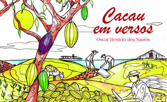 Cacau em versos, livro de Oscar Benício dos Santos