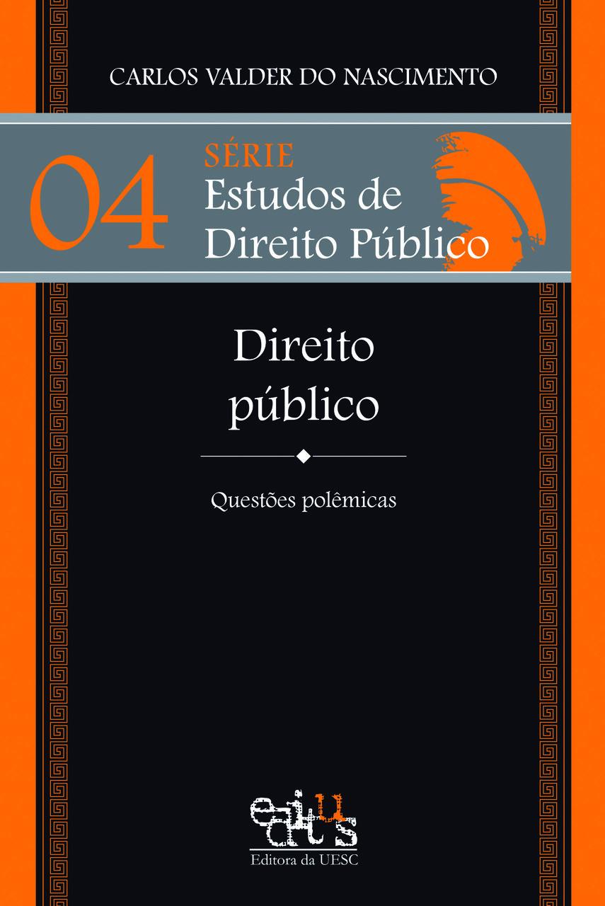 Direito público: questões polêmicas, livro de Carlos Valder do Nascimento