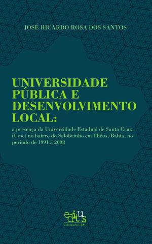 Universidade Pública e Desenvolvimento Local, livro de José Ricardo Rosa dos Santos