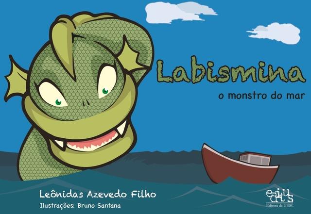 Labismina: o monstro do mar, livro de Leônidas Azevedo Filho