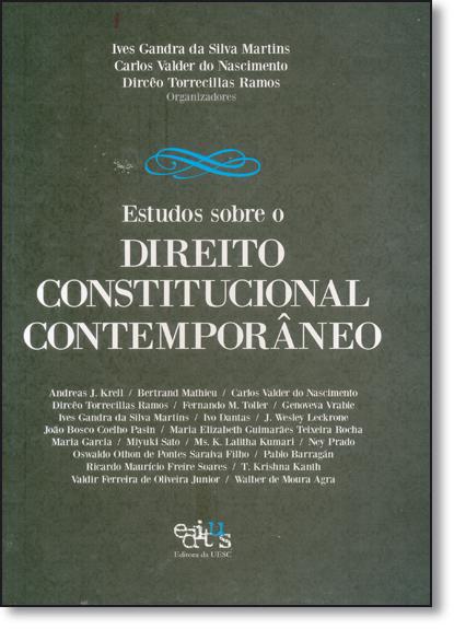 Estudos Sobre o Direito Constitucional Contemporâneo, livro de Ives Gandra da Silva Martins
