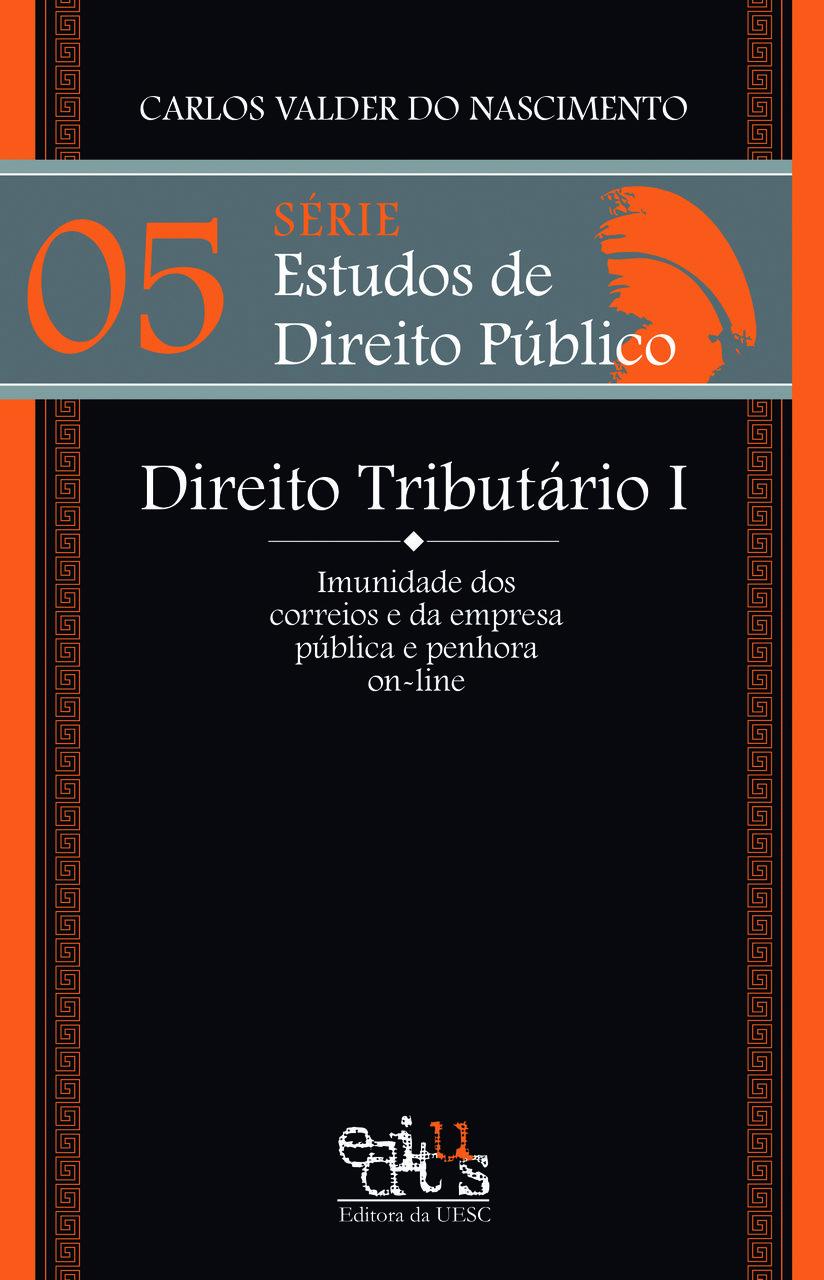 Direito Tributário I, livro de Carlos Valder do Nascimento