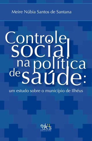 Controle social na política de saúde, livro de Meire Núbia de Santana