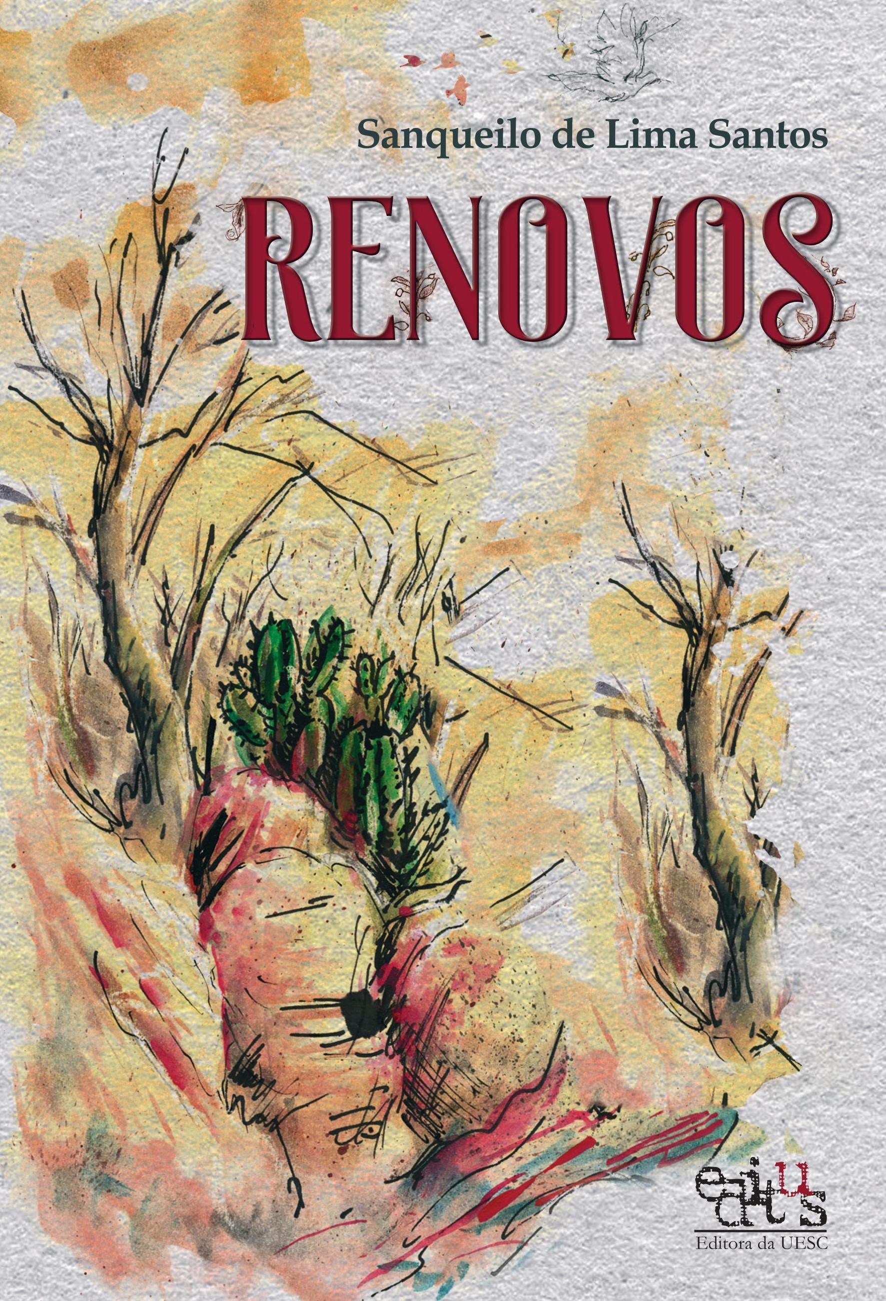 Renovos, livro de Sanqueilo de Lima Santos