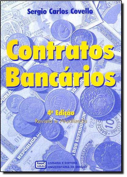 Contratos Bancários, livro de Sérgio Carlos Covello