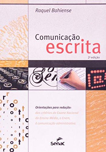 Comunicação Escrita, livro de Raquel Bahiense