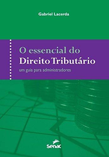 O Essencial do Direito Tributário, livro de Gabriel Lacerda