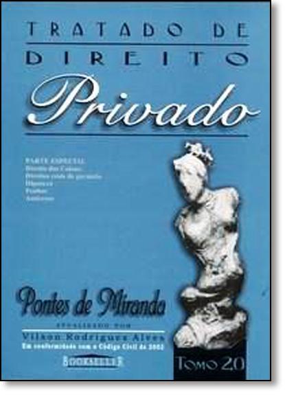 Tratado de Direito Privado - Tomo 20, livro de Pontes de Miranda